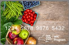 an image of the eWIC benefits card